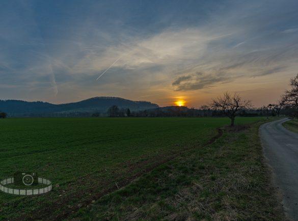 Sonnenuntergang Bad Boll