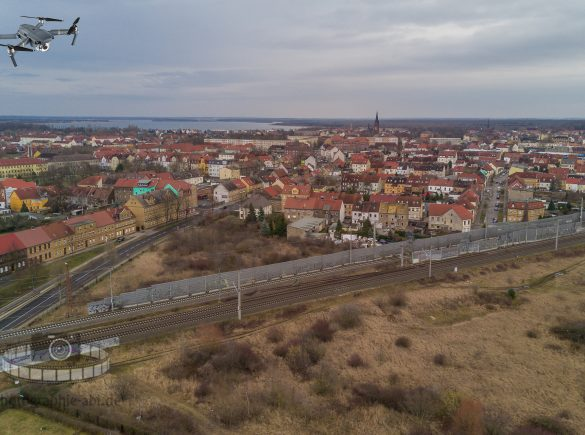 Stadtansicht Bitterfeld
