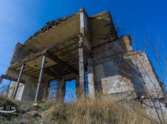 Ruine - Rohrwerke Muldenstein