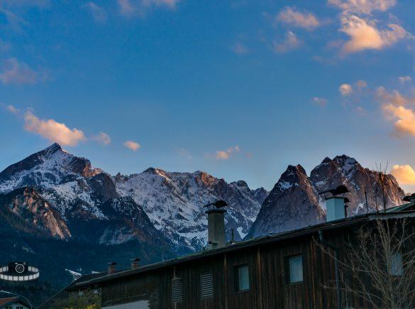 Alpenglühen Alpspitze