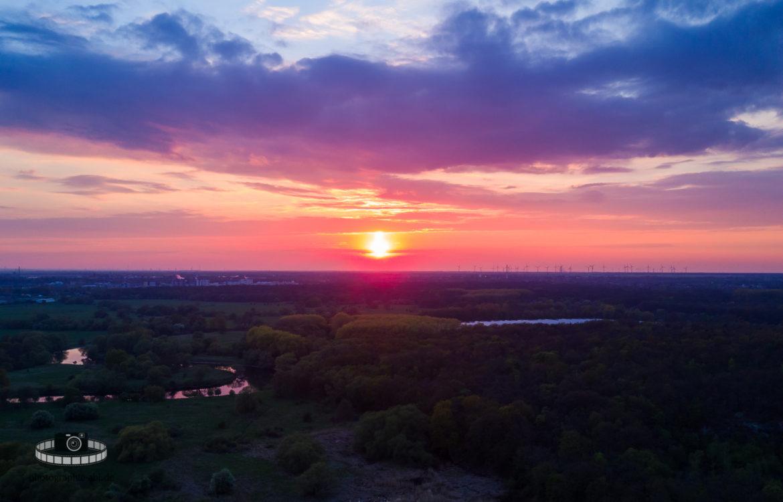 Video – Sonnenuntergang in den Muldeauen