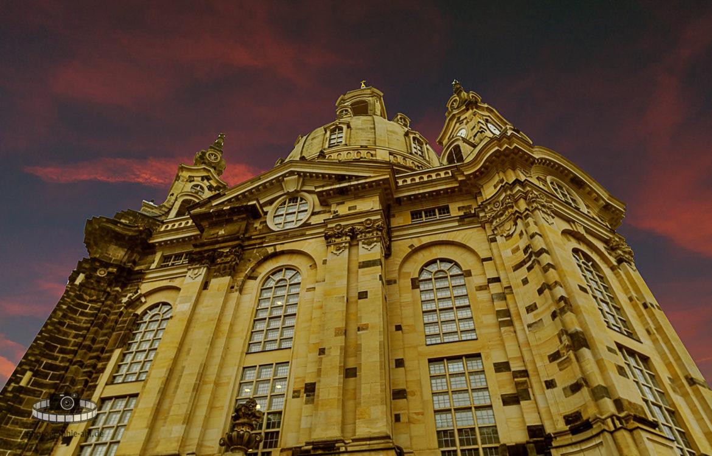 Frauenkirche in Dresden – Photoshopbearbeitung