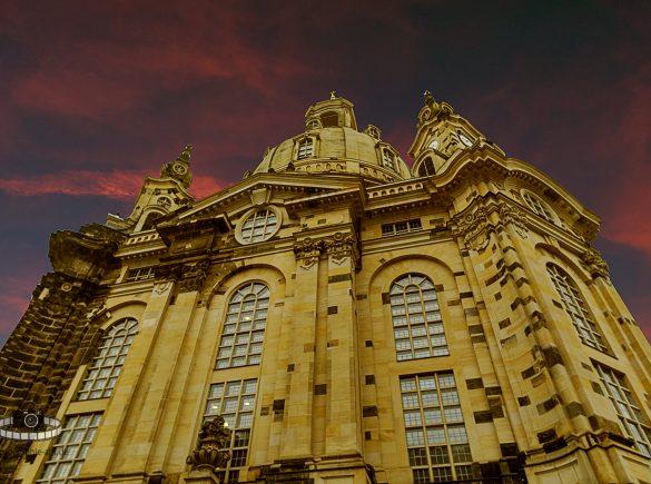Frauenkirche in Dresden - Photoshopbearbeitung