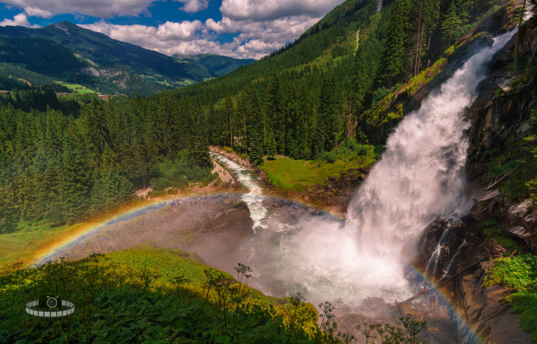 Unterwegs an den Krimmler Wasserfällen (Teil 5/6)