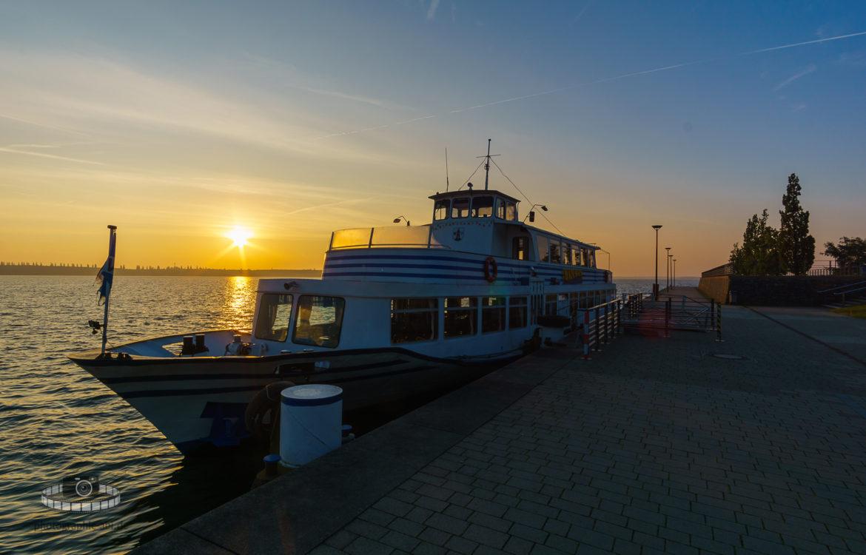 Sonnenaufgang über dem Goitzschesee – Teil II