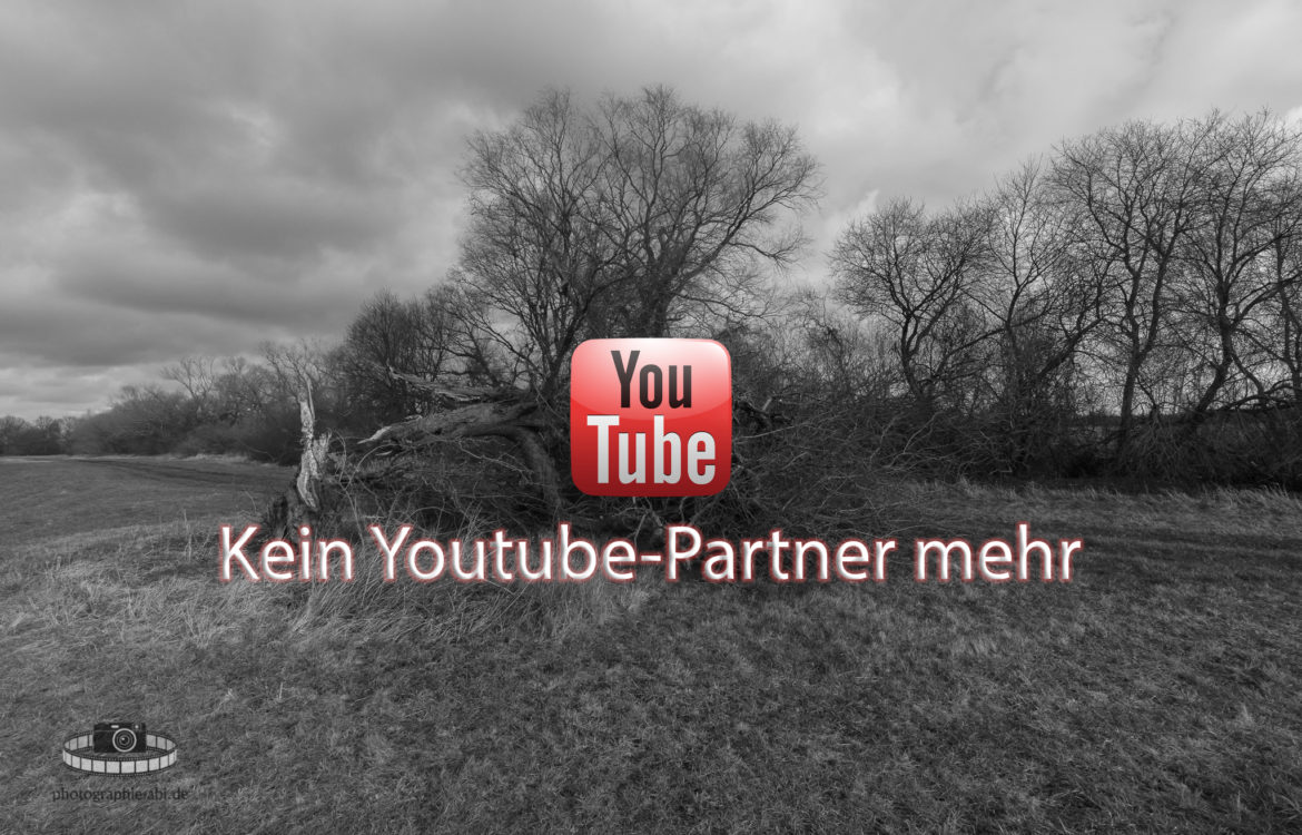 Youtube-Partnerschaft gekündigt