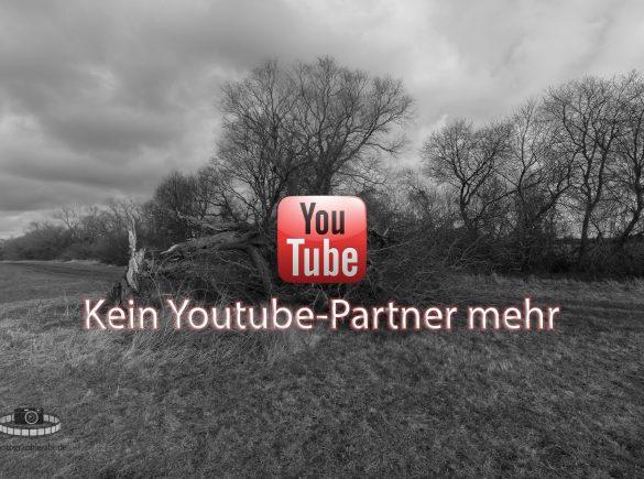 Youtube-Partnerschaft gekündigt